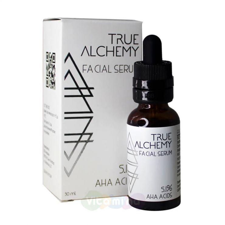 True Alchemy Сыворотка для лица водоэмульсионная AHA Acids 5,1%, 30 мл