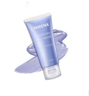 Lanbena - Увлажняющая маска для лица с экстрактом черники.(4265)