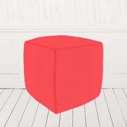 Пуфик-кубик красный