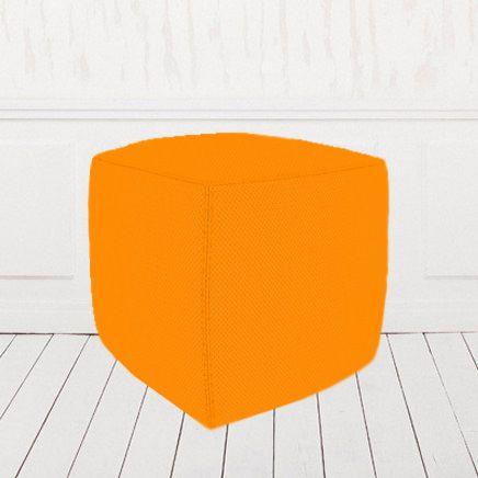 Пуфик-кубик оранжевый