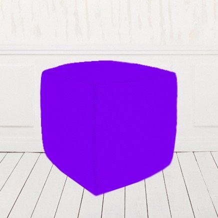 Пуфик-кубик фиолетовый
