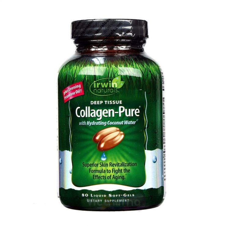 Irwin Naturals Комплекс коллагена Collagen-Pure, 80 капс.