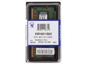 Модуль памяти Kingston KVR16S11S6/2