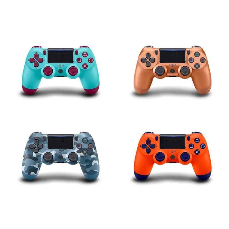 Джойстик для Playstation 4 Геймпад, Ps4, оранжевый, голубая ягода, камуфляж,бронза