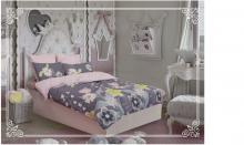 Комплект постельного белья Сатин Амальфи 1.5-спальный   Арт.1132
