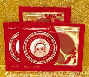 100 шт Патчи  Red Ginseng  eye patch с Женьшенем , 2 шт по 3 гр