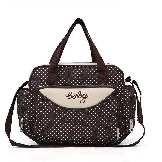 Компактная сумка для мамы Baby, 36х9х26 см, цвет коричневый