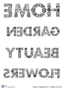 Alphabet 8-1