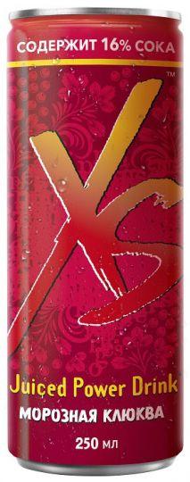 XS™ Power Drink Морозная клюква 12 шт