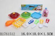 Игровой набор посуды. Кухонная утварь (10 предметов) (арт. 1761512)