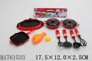 Игровой набор посуды. Учимся готовить (10 предметов) (арт. 1761533)