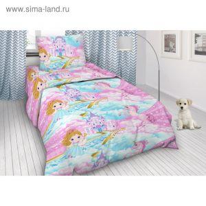 Детское постельное бельё 1,5 сп. «Фея и единорог»