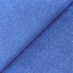 Лоскут трикотажной ткани  Джинсовый меланж