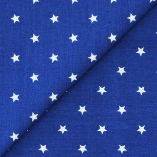 Ткань 50x40 Звезды на синем
