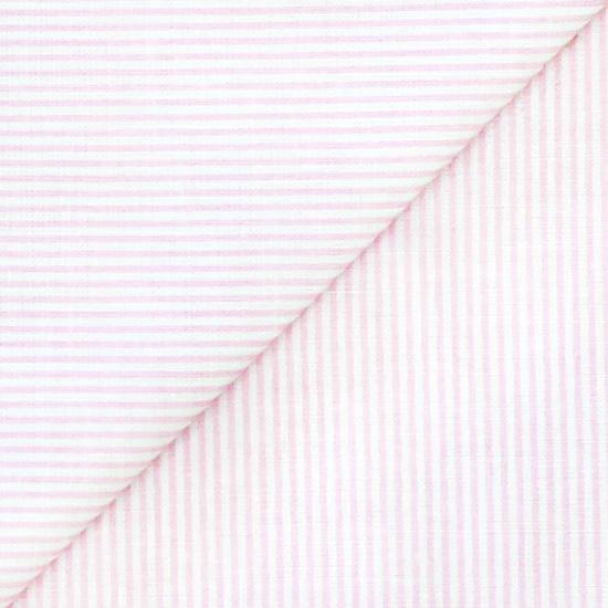 Ткань 50x40 Розово-белая полоска