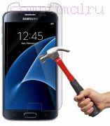 Стекло защитное экрана Samsung S7