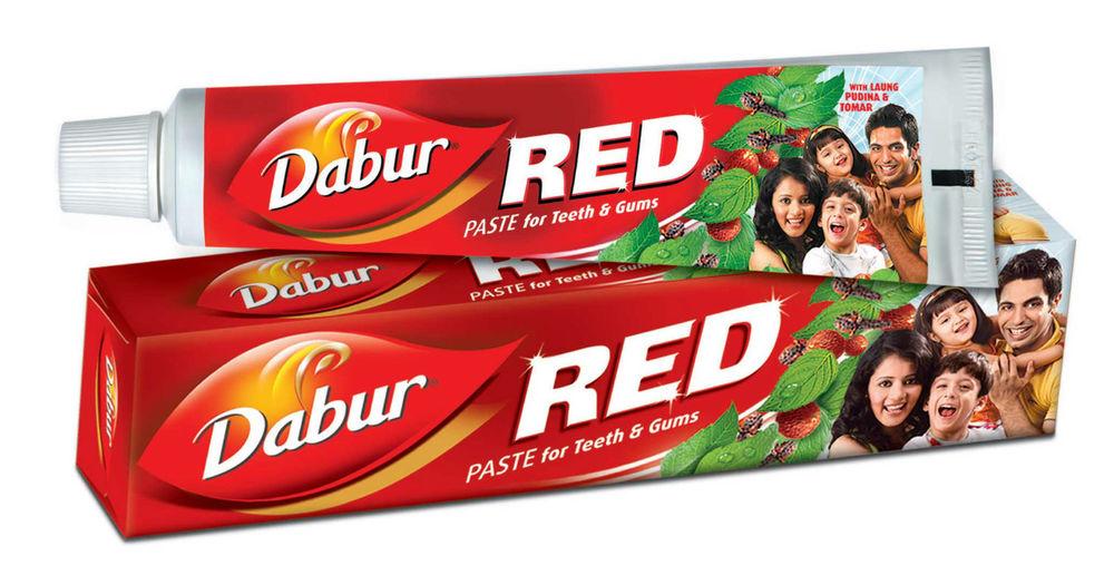 Аюрведическая зубная паста Дабур Ред ( Красная с перцем) Dabur Red 100 гр