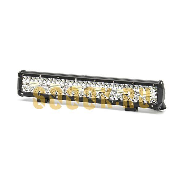 Двухрядная светодиодная LED балка 360W Philips дальнего света
