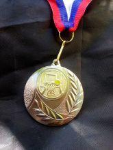 Медаль наградная Баскетбол 50 мм