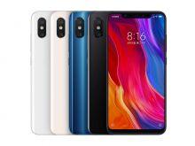 Xiaomi Mi 8, 6.64Gb (цвета: black, blue)