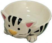 Миска Кошка 13,5см керамика