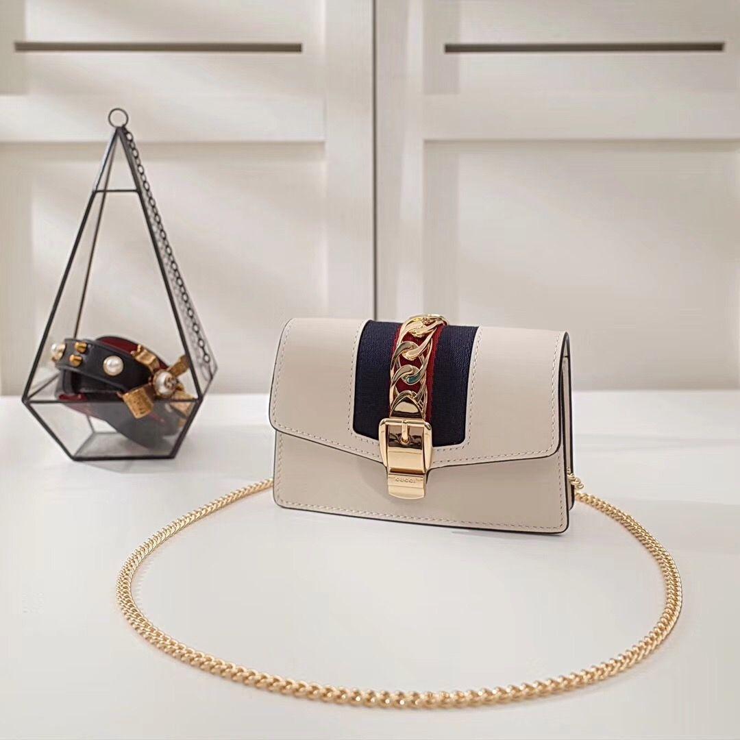 Guc*i Sylvie mini chain bag