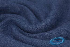 Трикотаж косичка мелкая VT-9984/C#10 тем синий