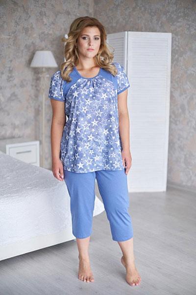 Пижама женская арт.0085 индиго