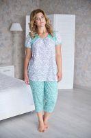 Пижама женская арт.0085 ментол