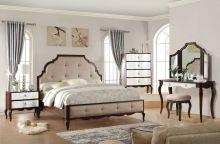 Спальня GRACEMONT комплект из 4 элементов (кровать 180*200, тумба 2 ящика, стол туалетный)