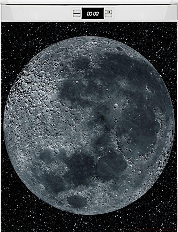 Наклейка на посудомоечную машину -  Moon