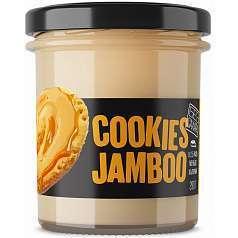 """Сливочный крем """"COOKIES JAMBOO"""" со вкусом печенья с карамелью, ZERO, 290 г"""
