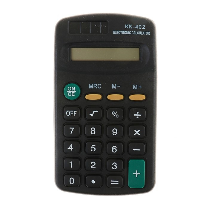 Карманный 8-Разрядный Калькулятор Kenko KK-402