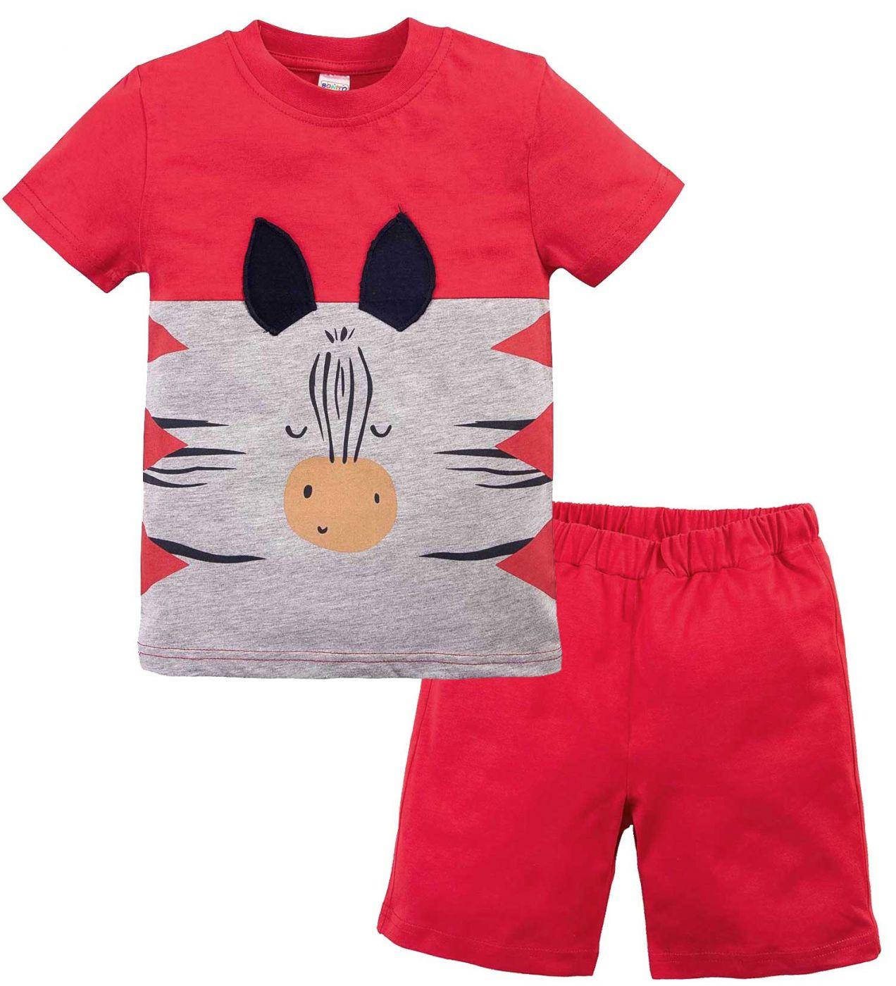Костюм для мальчика с мордочкой зебры Bonito kids