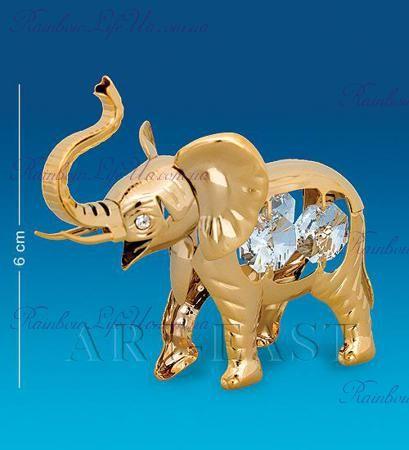 "Фигурка слоник с кристаллами ""Swarovski"""