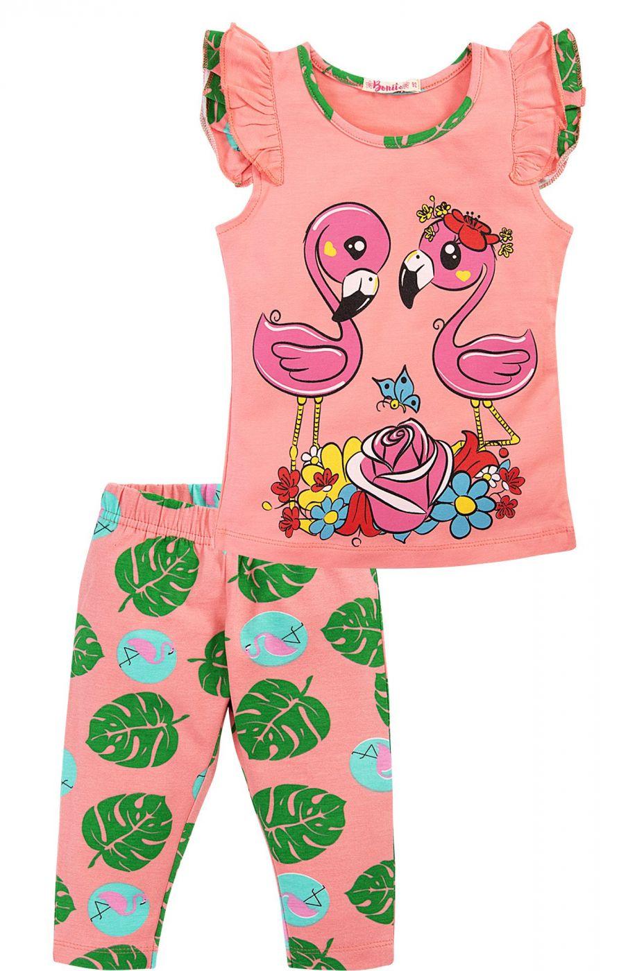 Костюм для девочек Bonito розовый фламинго
