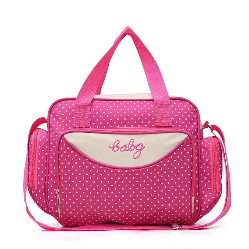 Компактная Сумка Для Мамы Baby, 36х9х26 См, Цвет Розовый
