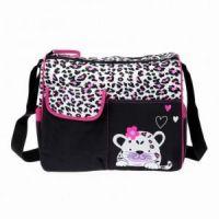 Многофункциональная сумка для мам с пеленкой Зверята, 39х15х32 см цвет розовый рис 2