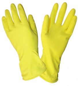 Перчатки резиновые размер М