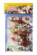 """Союзмультфильм. Макси-игра. """"Карлсон"""" (пакет. игр.поле. фишки. кубик) (арт. ИН-5024)"""