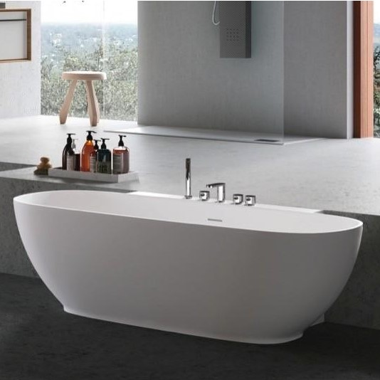 Hafro Calle Oval ванна 2COA1N2 155 см 73 см