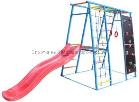 ДСК Богатырь (металл), 1,7 м горка - пластик