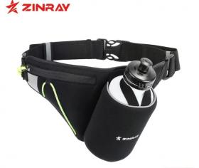 Беговая поясная сумка с бутылкой ZINRAY 550 мл