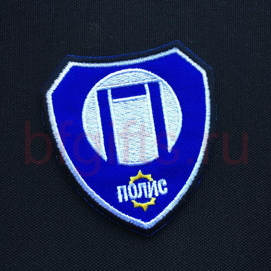 Патч ПОЛИС синий, Метро 2033