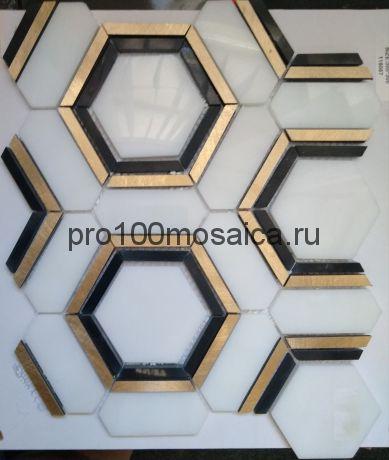 KA47 Мозаика серия Камень размер чипа 85*72, 84*32, мм: 305*285*8 (Happy Mosaic)
