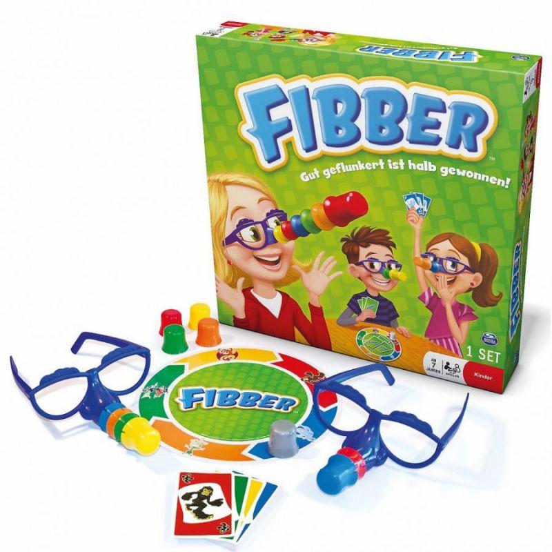 Детская логическая настольная игра Fibber