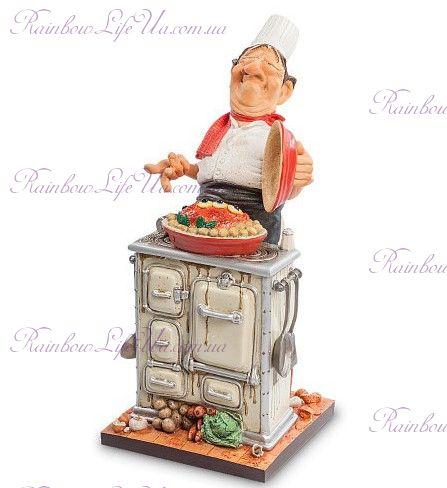 "Статуэтка шеф - повар ""The Master Chef. Forchino"""