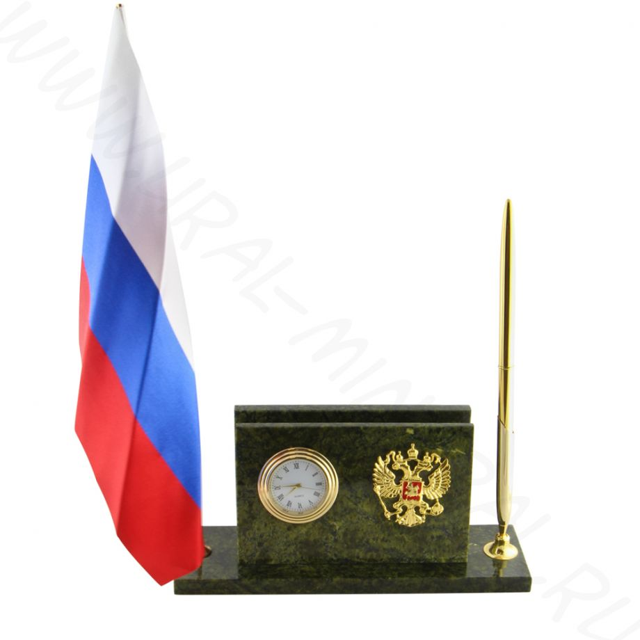 Письменный прибор с флагом