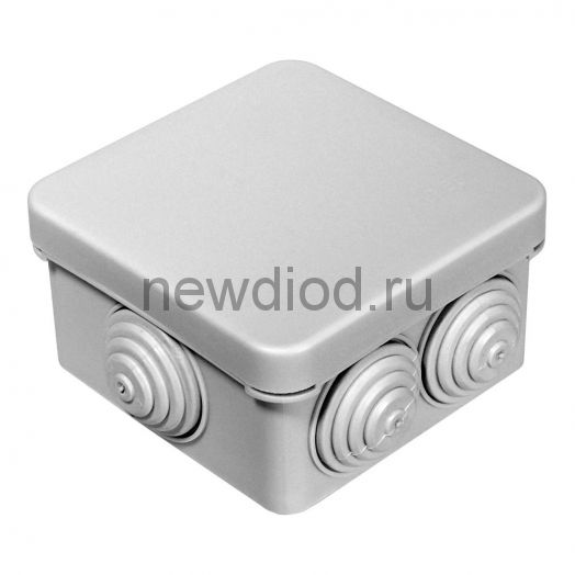 Коробка распределительная 40-0200 для о/п безгалогенная (HF) 70х70х40 (132шт/кор)