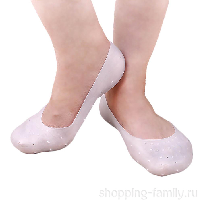Силиконовые носочки Anti-Crack Silicone Socks, размер XL